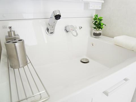 明大前フラワーマンション 洗面台