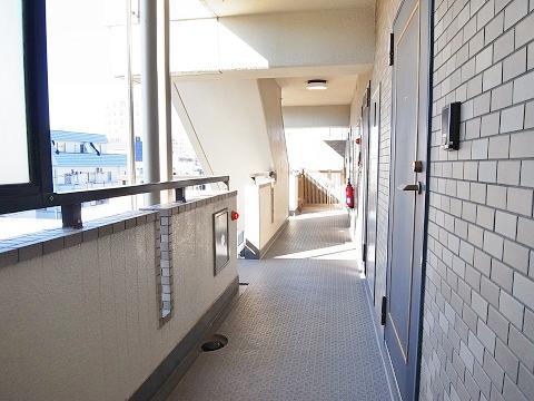 ライオンズマンション小石川植物園 廊下