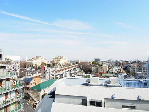 成城コーポ 眺望