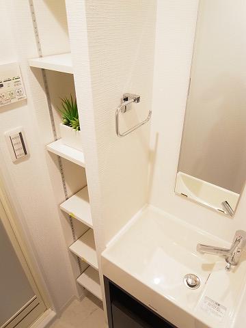 自由ヶ丘フラワーマンション 洗面台