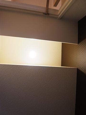 リベルテ西五反田 トイレ 照明