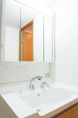 田町スカイハイツ 洗面台