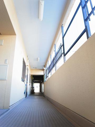 ライオンズマンション門前仲町第3 外廊下