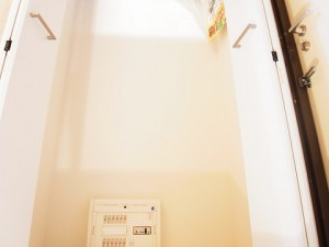 ライオンズプラザ新宿 玄関