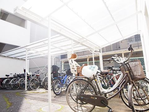 上馬シティホーム 駐輪場