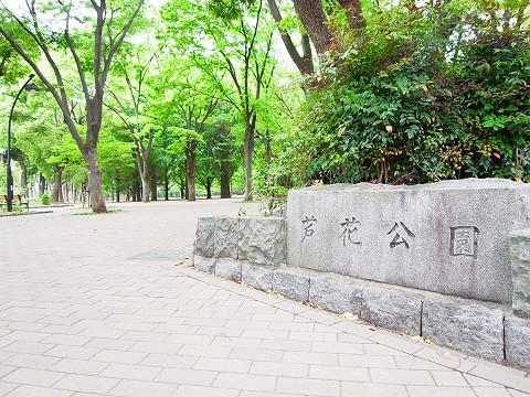 蘆花パークサイドフラット 周辺