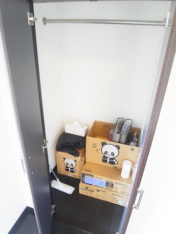 朝日白山マンション 洋室2 クローゼット