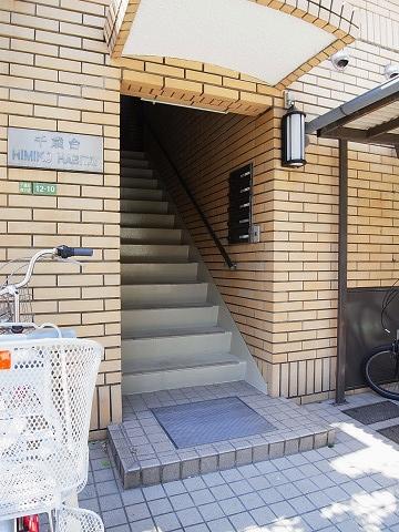 千歳台ヒミコハビタット アプローチ