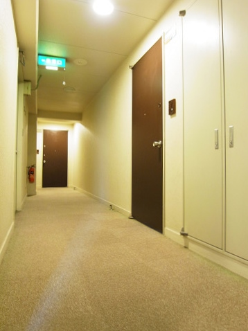 クレール豪徳寺 内廊下