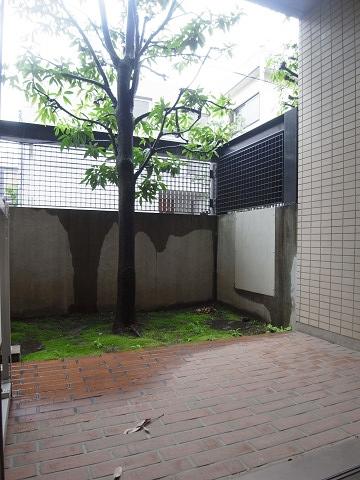 コスモ世田谷下馬 専用庭