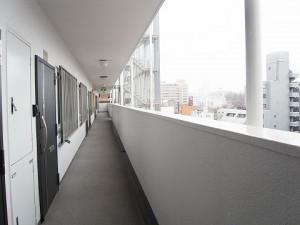ニックハイム中目黒 外廊下