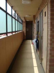 グランステューディオ経堂 共有廊下