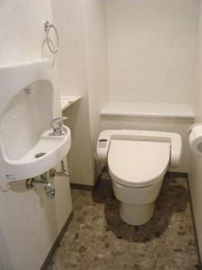 ライオンズガーデン初台 トイレ