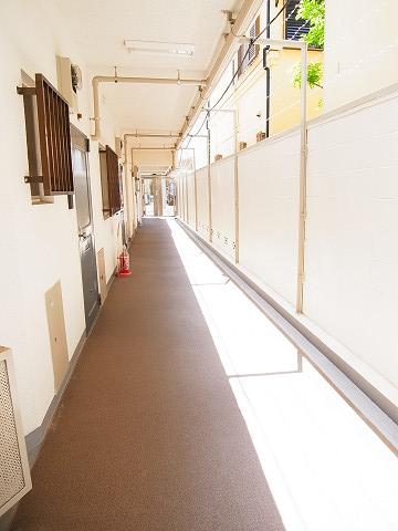 自由ヶ丘スカイハイツ 廊下