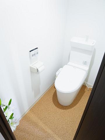 キャッスルマンション代官山 トイレ