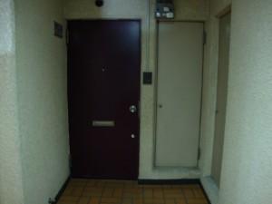 東中野ハイツ 玄関ドア