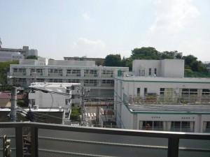 クレッセント池田山 眺望