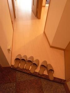 エクセルシオール麻布 玄関