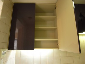 エクセルシオール麻布 キッチンの収納