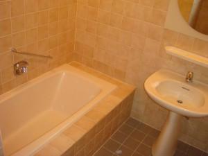 フラット緑ヶ岡 バスルーム