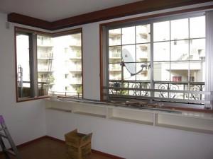 グランシティ三田三の橋 窓カウンター