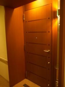 青山パークタワー 玄関