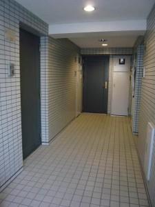 藤和シティコープ不動前 共有廊下