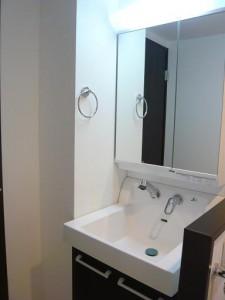 青山アジアマンション 洗面台