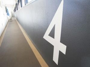 ツイン一の橋2号棟 廊下
