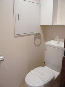 マンション南恵比寿 トイレ
