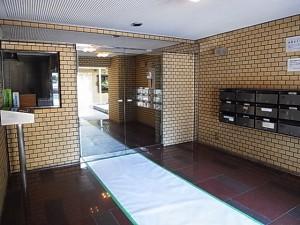 ライオンズマンション原宿 エントランス