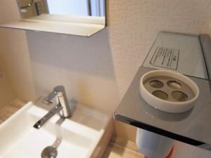 麻布霞町マンション 洗面台