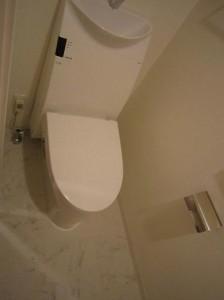 菱和パレス白金台 トイレ