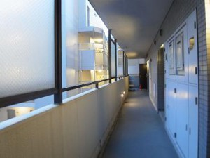 メゾン文京関口Ⅱ 8F廊下部分
