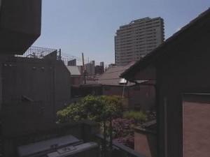 ザ・ランド代官山青葉台 バルコニーからの景色