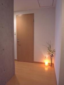 ザ・ランド代官山青葉台 玄関から室内を撮影