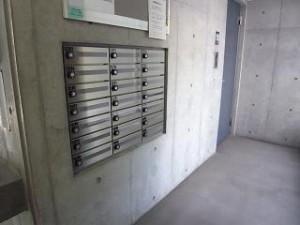 ザ・ランド代官山青葉台 郵便ポスト