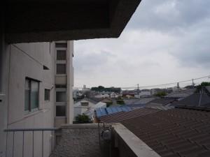 ニュー祐天寺マンション バルコニーからの景色