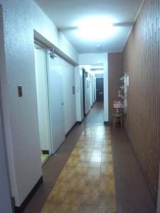 秀建コーポ 廊下