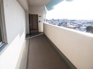 チサンマンション自由ヶ丘 外廊下
