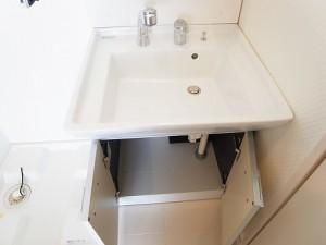 チサンマンション自由ヶ丘 洗面台収納