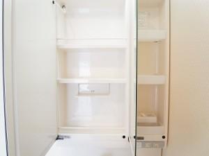 チサンマンション自由ヶ丘 洗面室収納