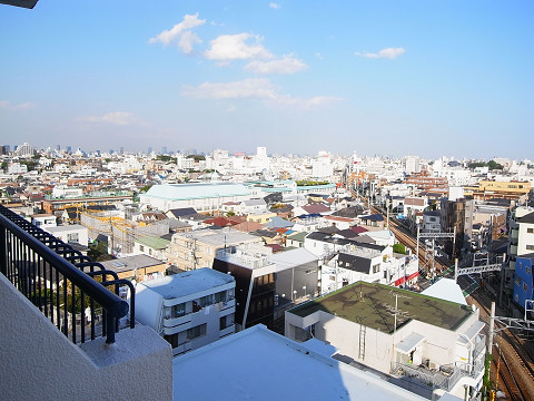 チサンマンション自由ヶ丘 バルコニー2眺望