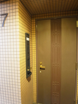サンクタス松濤ロワール 玄関ドア