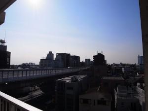 桜新町サンハイツ  眺望