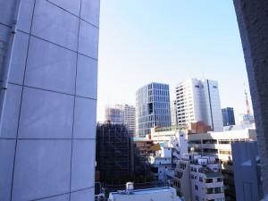 三田ハイデンス  バルコニー眺望