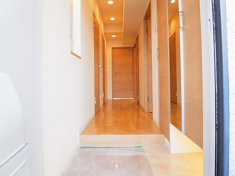 五反田サマリヤマンション 玄関
