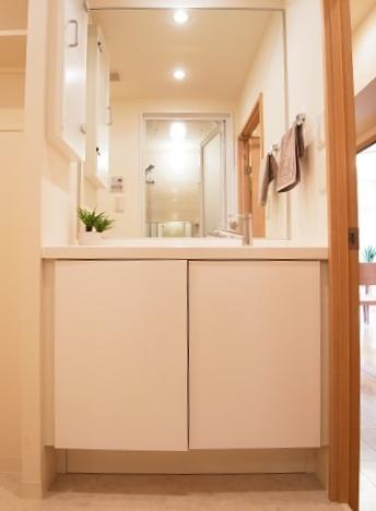 五反田サマリヤマンション 洗面台