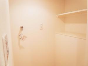 五反田サマリヤマンション 洗濯機置き場
