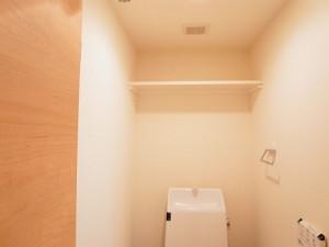 五反田サマリヤマンション トイレ収納